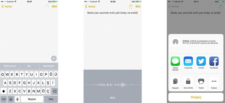 Sesi-Yaziya-Donusturen- Uygulamalar