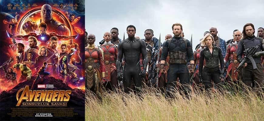 Avengers Sonsuzluk Savaşı Filmi Konusu