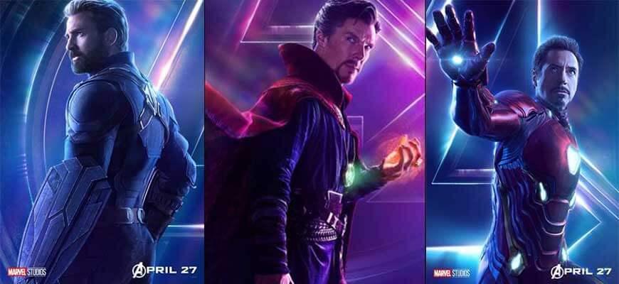 Avengers Sonsuzluk Savaşı Filmi Oyuncuları