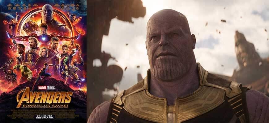 Avengers Sonsuzluk Savaşı Filmi Karakterleri