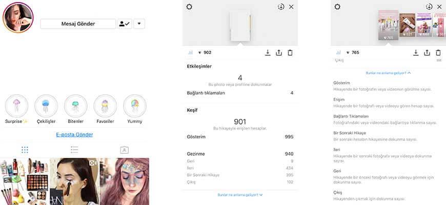 İşletmeler için Instagram Hikayeleri