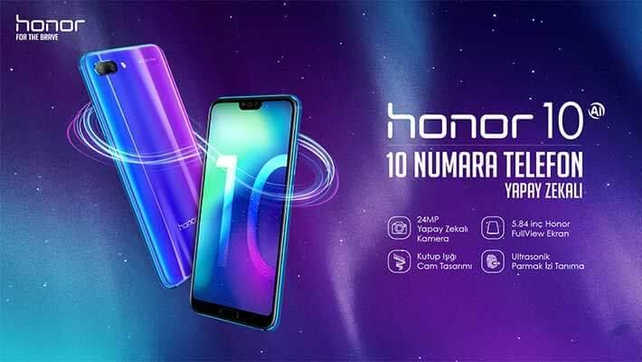 Honor10'un Teknik Özellikleri