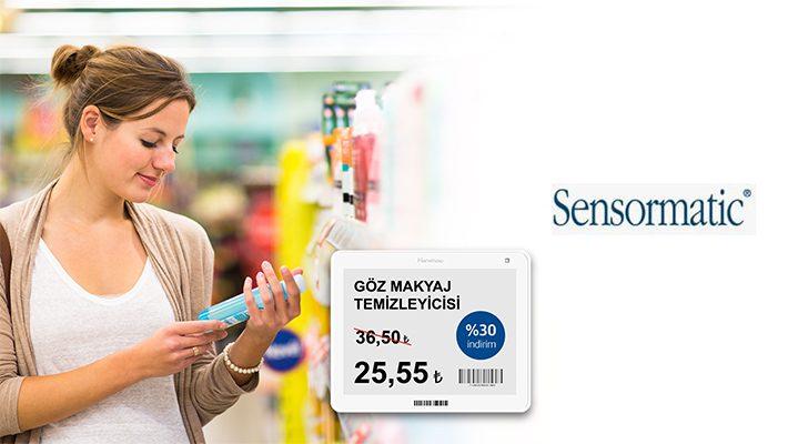 Sensormatic'ten Elektronik Fiyat Etiketi Çözümü